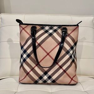 Classic Checkered Burberry Tote